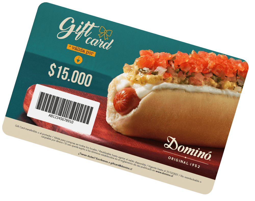 Giftcard Domino