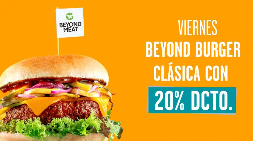 Viernes de Beyond Burger